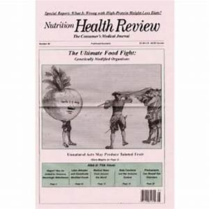 Nutrition Health Review Newsletter Subscription