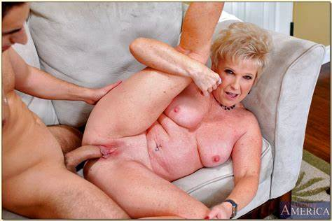 Granny Enjoys Shocking Porn With A Male