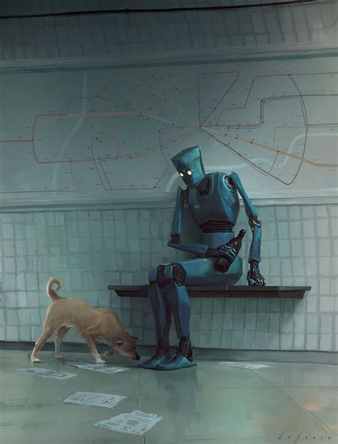 See the table above for resolution of most devices. Contact by Joeri | Robot art, Robot illustration, Futuristic art