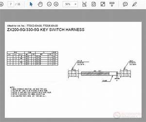 Hitachi Zx200-5g-330-5g Wiring Diagram