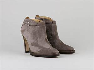 Chaussures Atelier Voisin / PERDRIS / Boots Taupe Velours