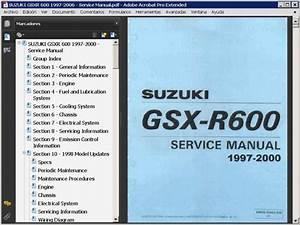 Suzuki Gsx-r600  1997-2006    Repair Manual