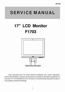 Hp F1703 Sm Service Manual Download  Schematics  Eeprom
