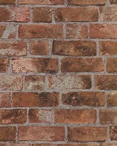 as 25 melhores ideias de textured brick wallpaper no With kitchen cabinets lowes with papier peint imitation brique