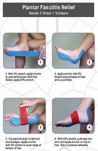 Quick Tape  Plantar Fasciitis Pain Relief  Tapetuesday
