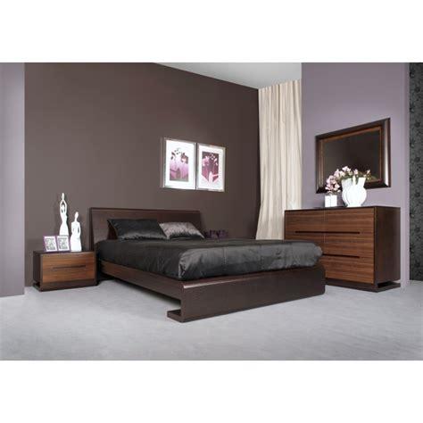 magasin de chambre a coucher adulte chambre adulte bois tacapa lit 140 ou 160 chevet 2