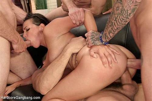 Group Sex Vids Featuring Jeze Belle #Danica #Dillon #Brunette #Sweet #Girl #Is #Gangbanged #By #Five