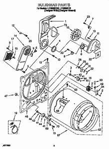 Whirlpool Ler8858eq2 Dryer Parts