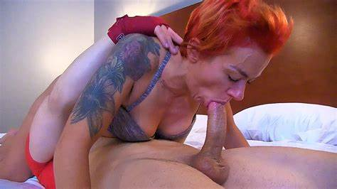 Dazzling Tattooed Newbie Fucking Tough Porn Experience