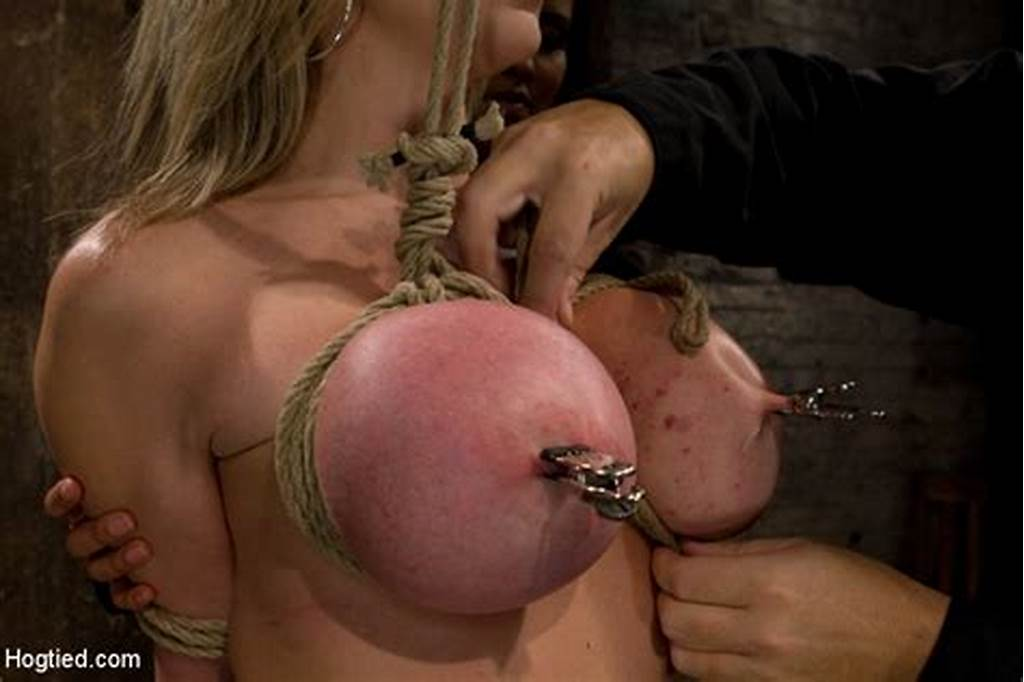 #Milf #With #Huge #Ee #Tits #Gets #Them #Severely #Bound