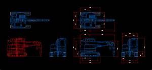 Crawler Crane Maeda Dwg Plan For Autocad  U2022 Designs Cad