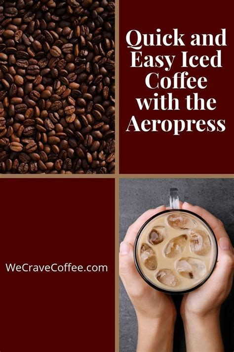 The quick fix coffee company. Quick & Easy Iced Coffee with the Aeropress   Aeropress recipes, Aeropress coffee, Iced coffee