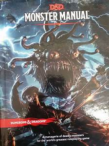 Every Player Worth His Salt Should Have A Monster Manual