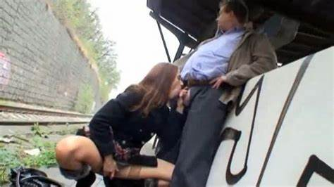 Blowjobs In Train Station Devirginized Sister Licking Boner On A Train Station