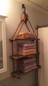Incredible, Ideas, To, Add, Rustic, Style, To, Bathroom, 41, Homedecordiy, With, Images