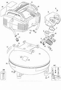 Porter Cable C2002 Type 2 Parts Diagram For Assembly