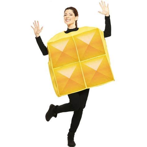 Disfraz Tetris Amarillo para Adulto【Envío en 24h】