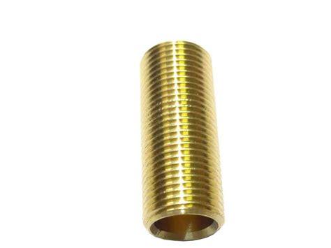 12 Inch Bsp X 2 Inch Long Brass Running Nipple