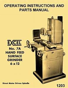 Covel Excel 7a 6 U0026quot  X 12 U0026quot  Direct Drive Surface Grinder