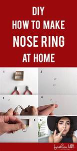 How To Make A Fake Nose Piercing Look Real