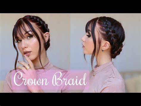 Stella Cini YouTube in 2020 Braided crown hairstyles