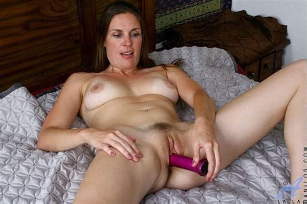 #Stripping #In #Her #Bed #Sultry #Brunette #Milf #Laila #Anilos