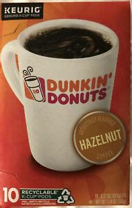 4.3 out of 5 stars with 125 reviews. Dunkin' Donuts Hazelnut Coffee K-Cup Pods, 60 ct. - Free Shipping!! | eBay