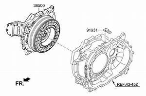 2013 Kia Optima Hybrid Traction Motor  U0026 Gdu Assy