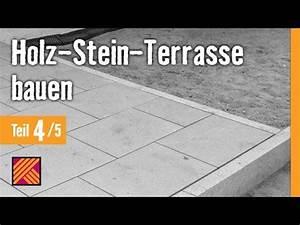 Terrasse Holz Stein : version 2013 holz stein terrasse bauen kapitel 4 granitplatten verlegen youtube ~ Watch28wear.com Haus und Dekorationen