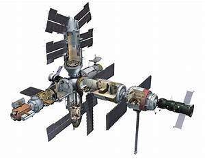 Mir Space Station For Kids