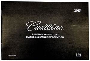 2015 Cadillac Escalade  Esv Us Owners Manual Book W  Leather Case New Oem 22953736