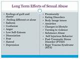 Psychological effects of sexual assault