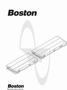 Boston Acoustics Stereo Amplifier Gt