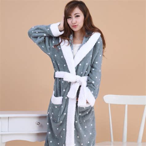robe de chambre chaude femme tres longue robe de chambre pour femme la mode des robes