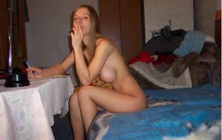 Teen Nude Smoking