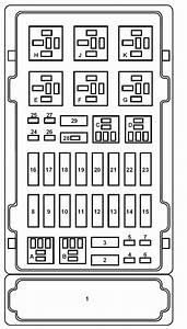 2003 Ford E150 Fuse Box Diagram