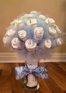 le quotdiaper bouquetquot ou bouquet de couches une alternative With affiche chambre bébé avec bouquet de fleurs naissance garcon