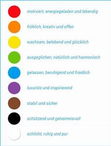 Welche Farbe Wirkt Beruhigend : farben in deiner zeitschrift richtig einsetzen jilster ~ Watch28wear.com Haus und Dekorationen