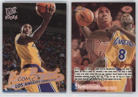 Venditore affidabilità topvenditore affidabilità topvenditore affidabilità top. 1996-97 Fleer Ultra #52 Kobe Bryant Los Angeles Lakers RC ...