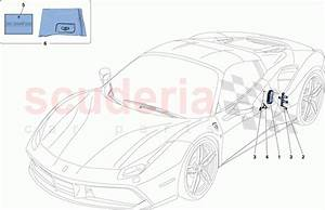 Ferrari 488 Spider Telemetry Parts