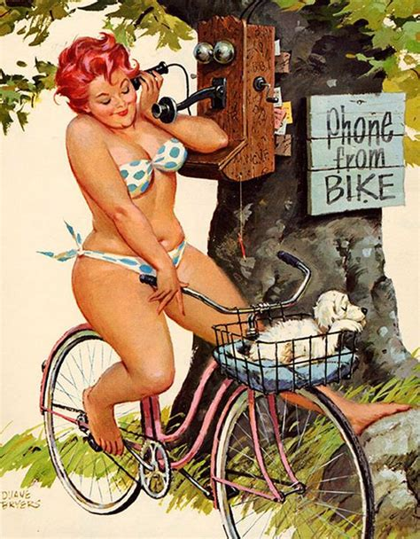 Plus Size Pin Up Girl From The 1950s Barnorama