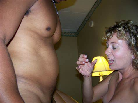 Granny Blow Job In The Bathroom