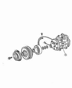 Jeep Grand Cherokee Clutch Overhaul Kit  A  C Compressor