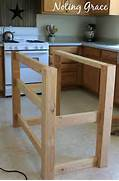 To Make A Pallet Kitchen Island For Less Than 50 Dollars Diy Kitchen TAGS Cooking Diy Food Home Island Kitchen Kitchen Island Or Our Breakfast Table In White Not Sure Between Old And Pure Ideas Kitchen Island