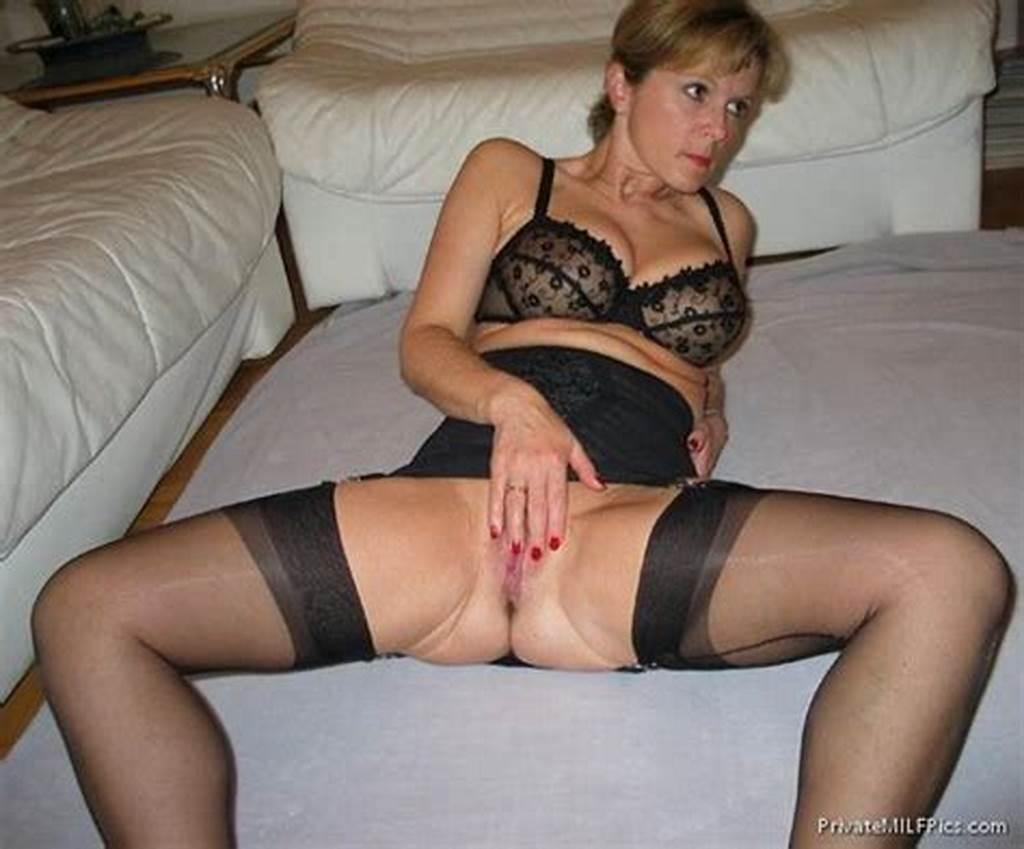 #Horny #Milf #Rubbing #Her #Pussy