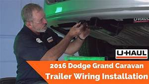 2016 Dodge Grand Caravan Trailer Wiring Installation