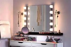 Coiffeuse Miroir Led : luminaires salle de bain ikea coiffeuse en 2018 pinterest luminaire salle de bain salle ~ Teatrodelosmanantiales.com Idées de Décoration