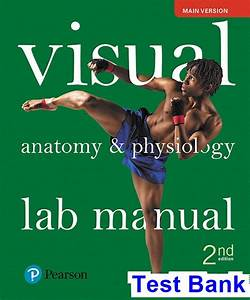 Visual Anatomy And Physiology Lab Manual Main Version 2nd