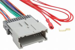 Toyota Matrix 2003-2004 Factory Stereo To Aftermarket Radio Harness Adapter Plug