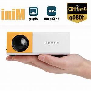 Mini Led Projector Full Hd 1080p Portable Video